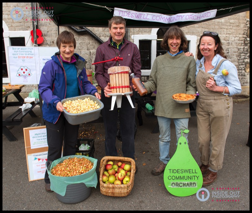 Tideswell Community  Orchard Apple Pressing Day