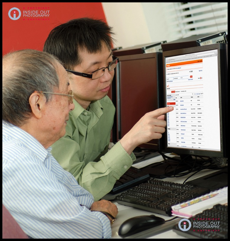 Wai-Yin computer courses for the elderly