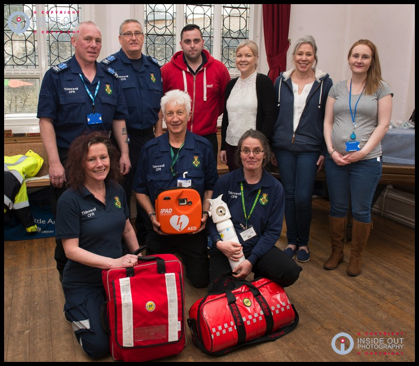 Tideswell First-responders open day
