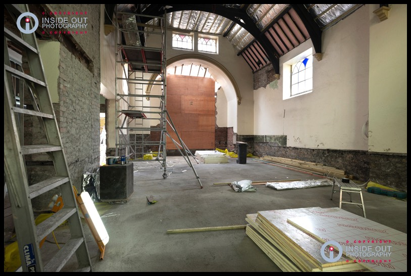 Rear of entrance area 05-10-18