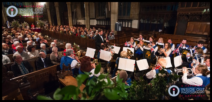 Tideswell Band Last Night of the Proms