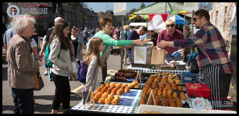 Food-Stall Tideswell food festival 2018