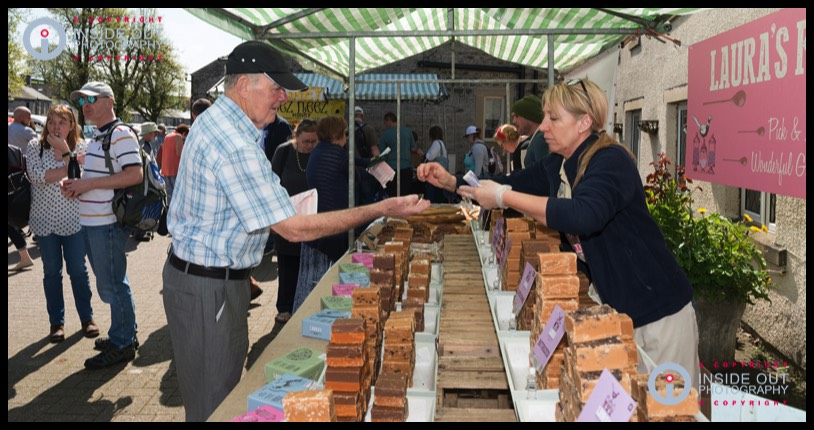 Fudge-Stall Tideswell food festival 2018