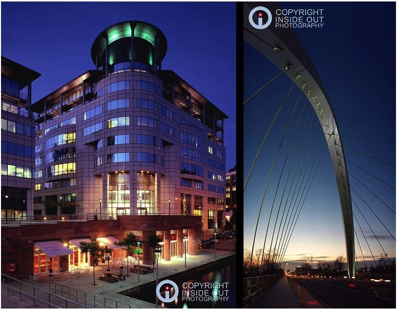 Two examples of architectural night shots