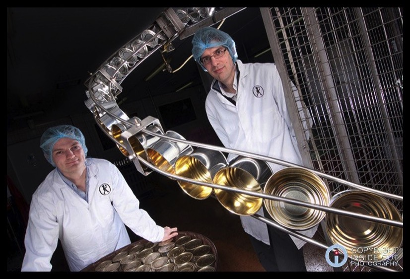 PR portrait of two senior food production Managers