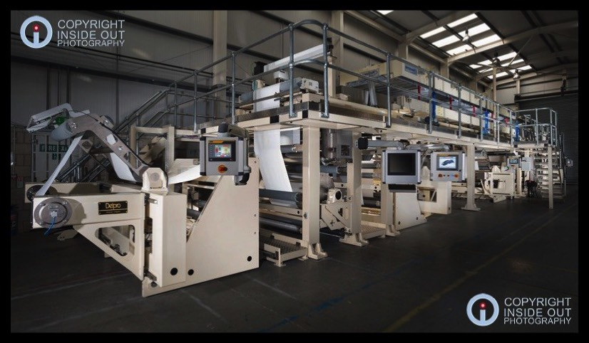 Two-Story Industrial Print Machine Glossop Manchester